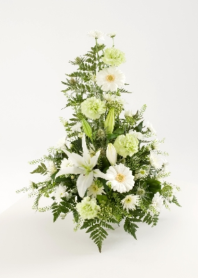 Simply White Arrangement